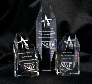 Acuity's work has been honored by the American Advertising Association's Nashville Chapter with three of its prestigious ADDY awards.